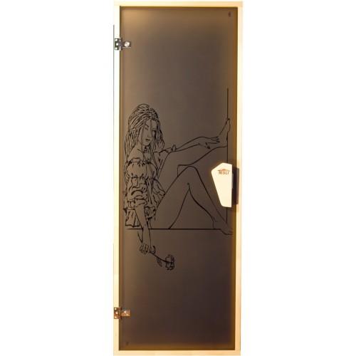 """Двери для сауны """"Мечта"""" 1900*700"""