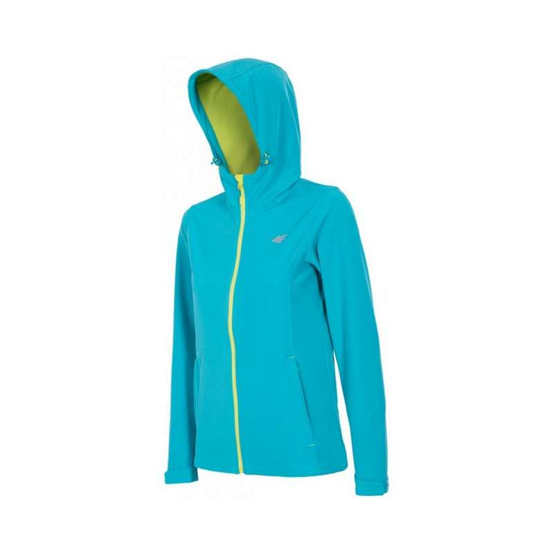 Buy Jacket 4F Softshell SFD001 (1493 turquoise sea, L)