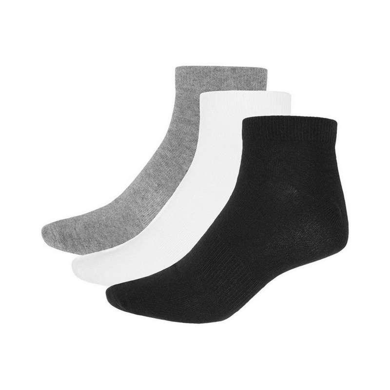 Buy Socks 4F Socks SOM001 set 3 couples (white+black+salt&pepper melange, 39-42)