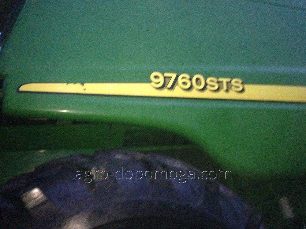 Комбайн бу ДжонДир 9760 стс (жатка гидрофлекс ,кукурузная жатка герингоф)