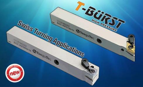 Купить Новая токарная державка T-Burst для станков швейцарского типа