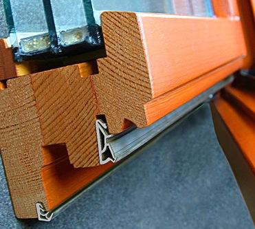 Купить Уплотнители для деревянных окон и дверей.