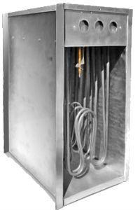 Купить Прямоугольный канальный нагреватель КНП 380