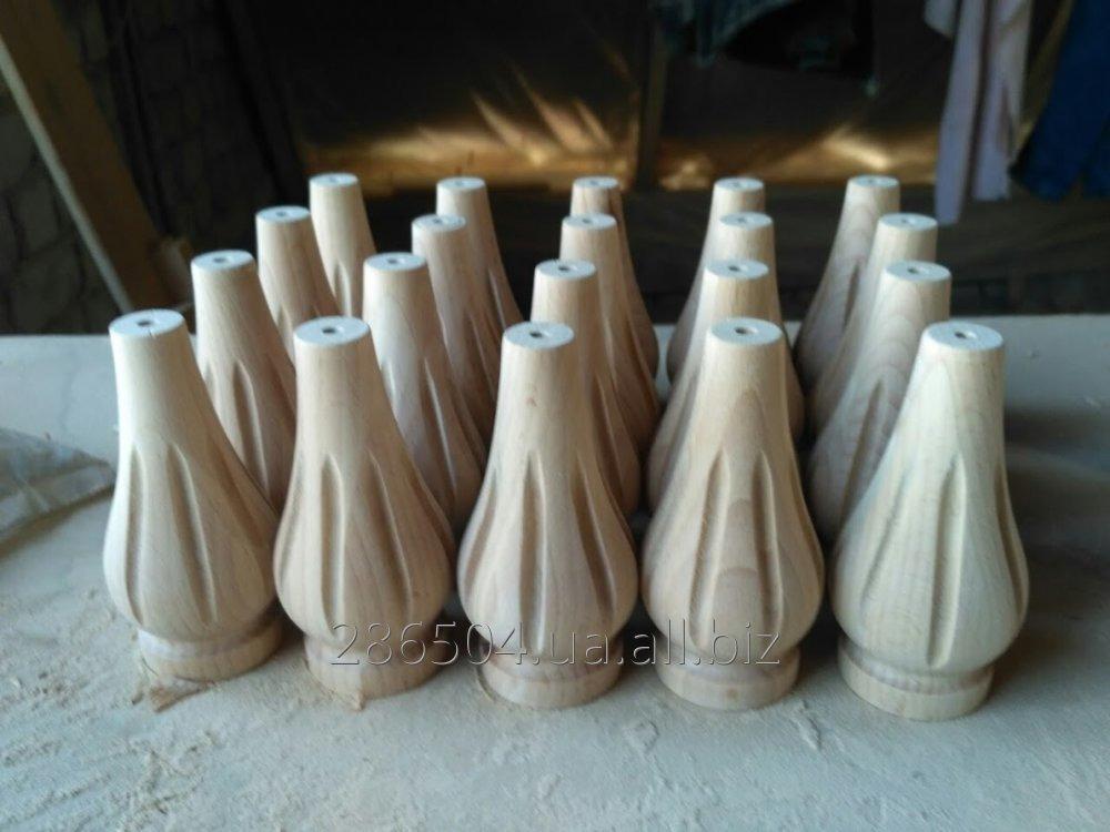 Резные мебельные  ножки из дерева.