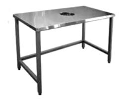 Столы производственный для сбора отходов 1500х600х850