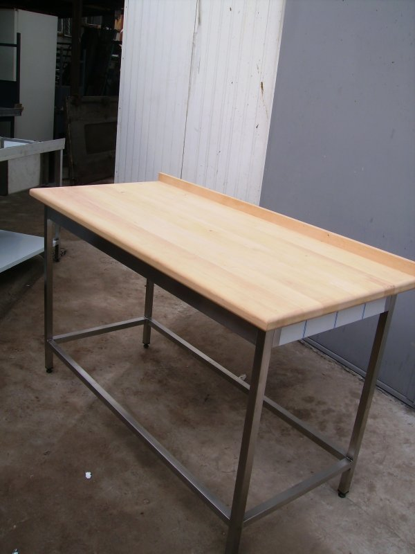 Столы производственные для мучных работ 1300х600х850