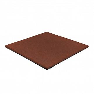 Резиновая плитка 500×500, 15 мм