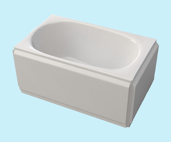 Ванна акриловая ARTEL PLAST  Голуба (120) белая