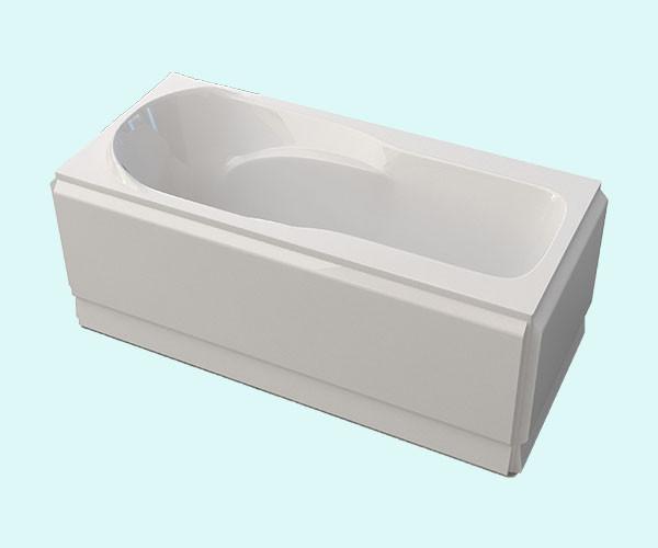 Ванна акриловая ARTEL PLAST Устина (140) белая