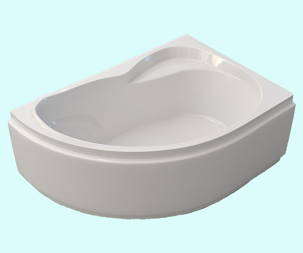 Ванна акриловая ARTEL PLAST Ярослава (150) белая