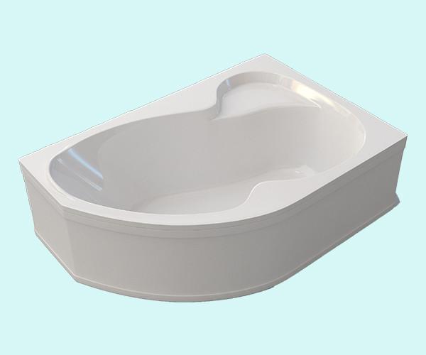 Ванна акриловая ARTEL PLAST Флория (170) белая
