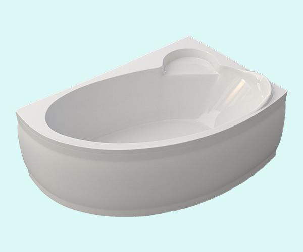 Ванна акриловая ARTEL PLAST Стелла (170) белая
