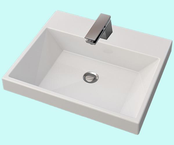 Умывальник акриловый  ARTEL PLAST  APR 001 - 14 белый