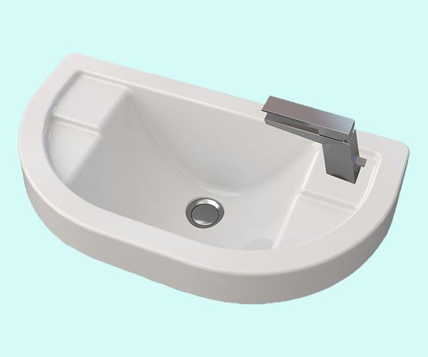 Умывальник акриловый ARTEL PLAST APR 009 - 14 белый
