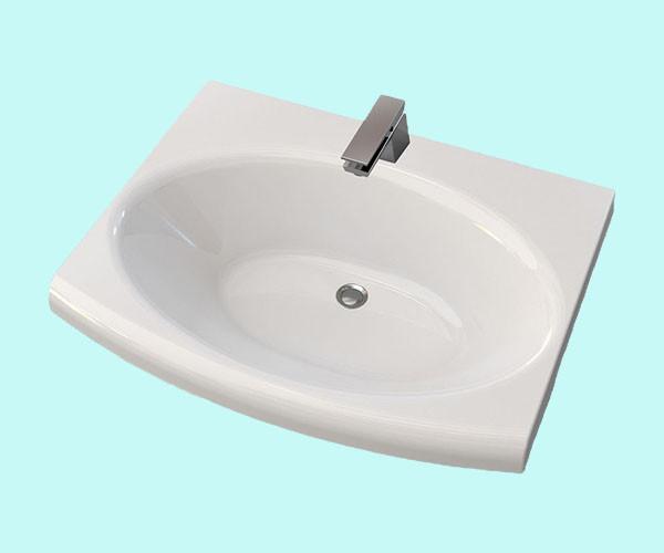 Умывальник акриловый ARTEL PLAST APR 010 - 14 белый