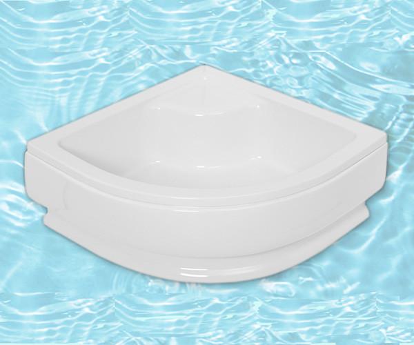 Поддон акриловый ARTEL PLAST Лучезар (90) белый