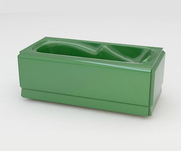 Ванна акриловая ARTEL PLAST Арина (170) зеленая