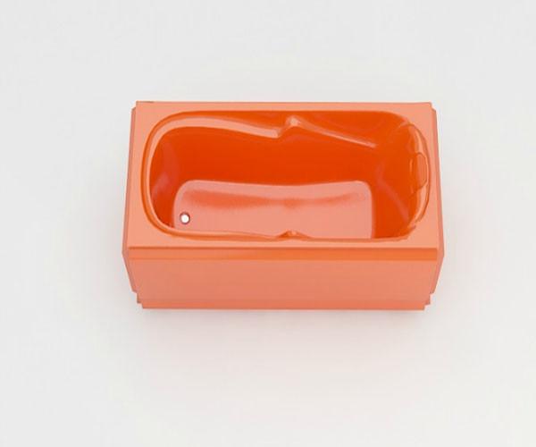 Ванна акриловая ARTEL PLAST Арина (170) оранжевая