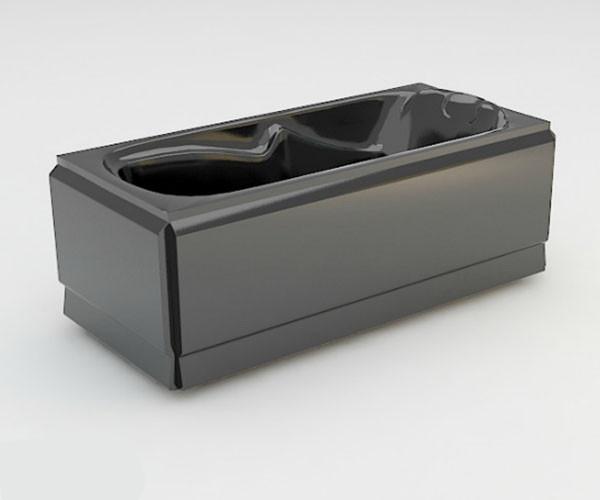 Ванна акриловая ARTEL PLAST Арина (170) черная
