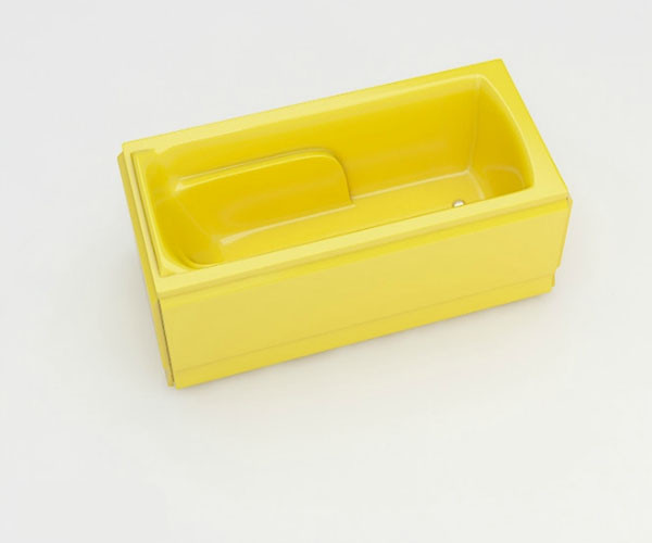 Ванна акриловая ARTEL PLAST Варвара (180) желтая