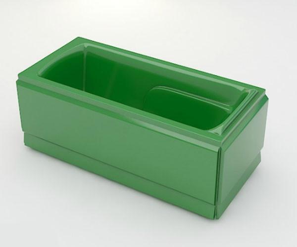 Ванна акриловая ARTEL PLAST Варвара (180) зеленая