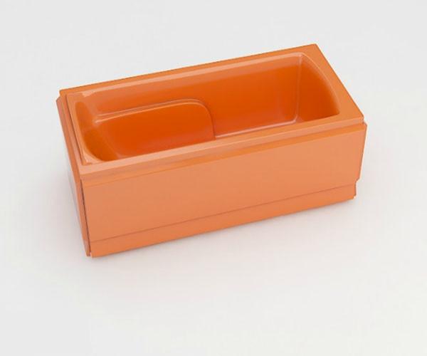 Ванна акриловая ARTEL PLAST Варвара (180) оранжевая