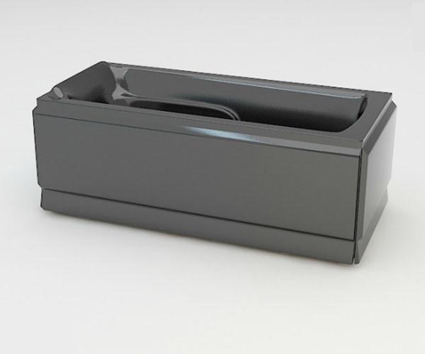 Ванна акриловая ARTEL PLAST Варвара (180) черная