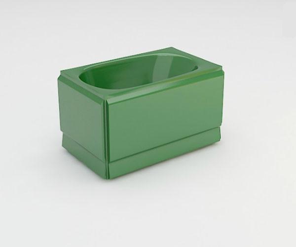 Ванна акриловая ARTEL PLAST  Голуба (120) зеленая
