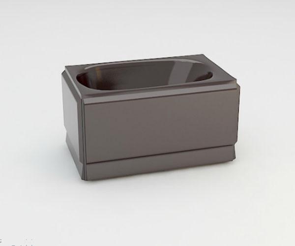 Ванна акриловая ARTEL PLAST  Голуба (120) коричневая