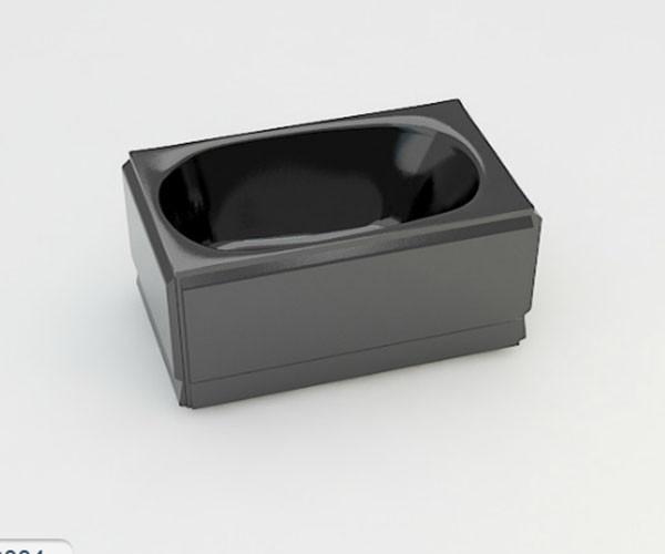 Ванна акриловая ARTEL PLAST  Голуба (120) черная