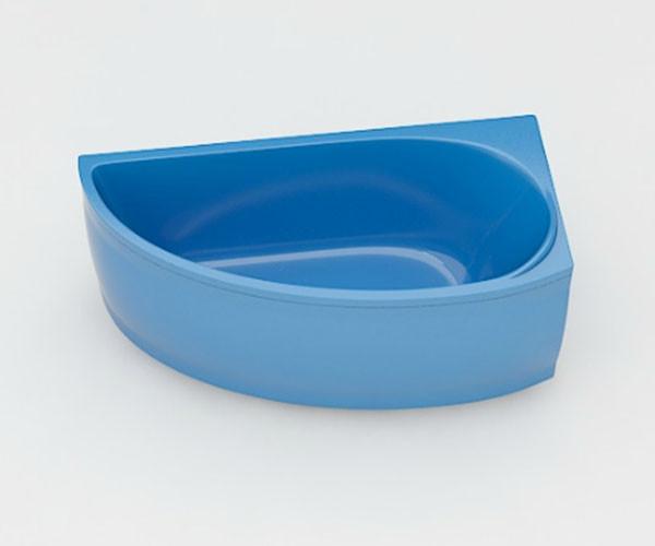 Ванна акриловая ARTEL PLAST  Ева (150) голубая