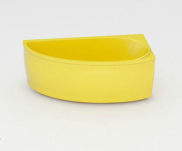 Ванна акриловая ARTEL PLAST  Ева (150) желтая