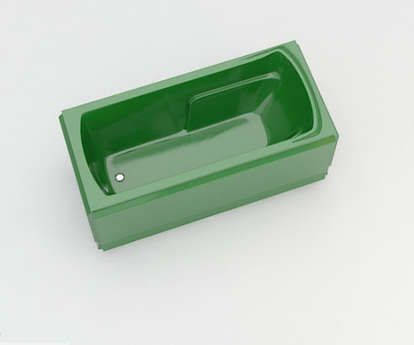 Ванна акриловая ARTEL PLAST Лимпиада (170) зеленая