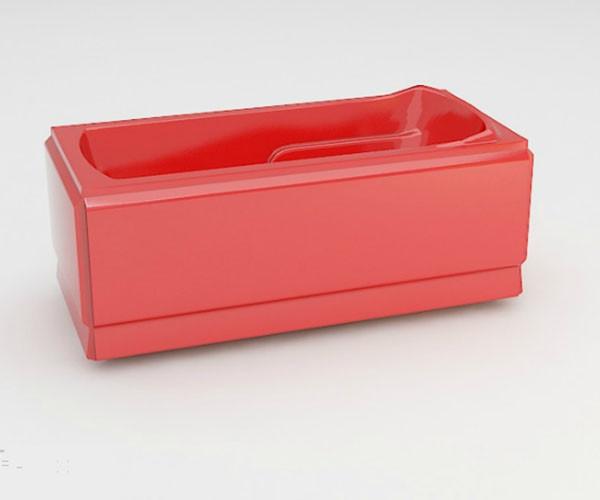 Ванна акриловая ARTEL PLAST Лимпиада (170) красная