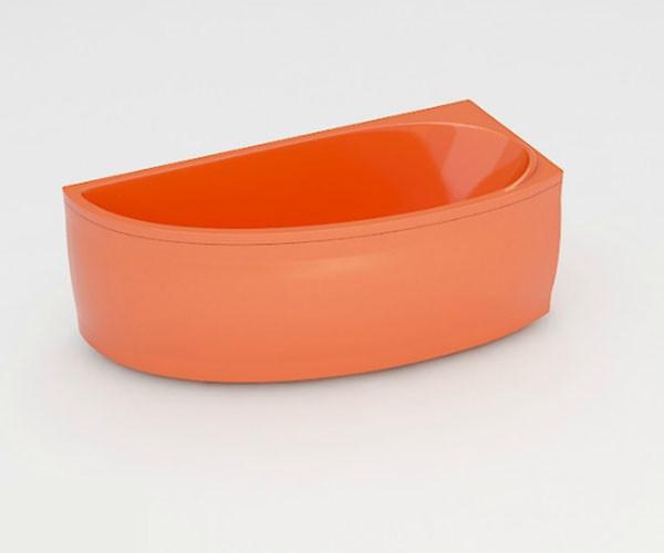 Ванна акриловая ARTEL PLAST Далина (160) оранжевая