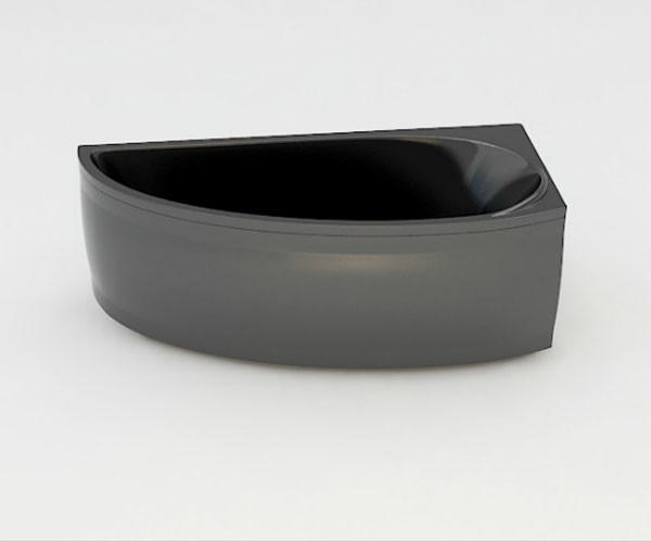 Ванна акриловая ARTEL PLAST Далина (160) черная