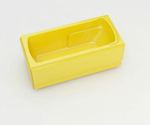 Ванна акриловая ARTEL PLAST Калерия (160) желтая