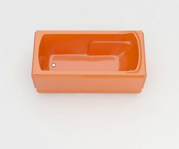 Ванна акриловая ARTEL PLAST Калерия (160) оранжевая