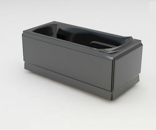 Ванна акриловая ARTEL PLAST Калерия (160) черная