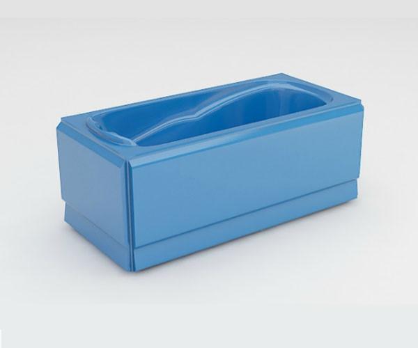 Ванна акриловая ARTEL PLAST Марина (150) голубая