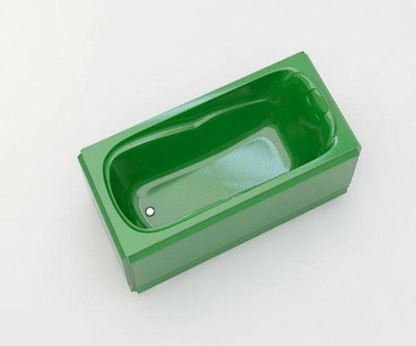 Ванна акриловая ARTEL PLAST Марина (150) зеленая