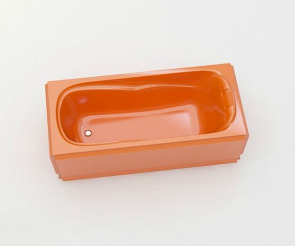Ванна акриловая ARTEL PLAST Марина (150) оранжевая