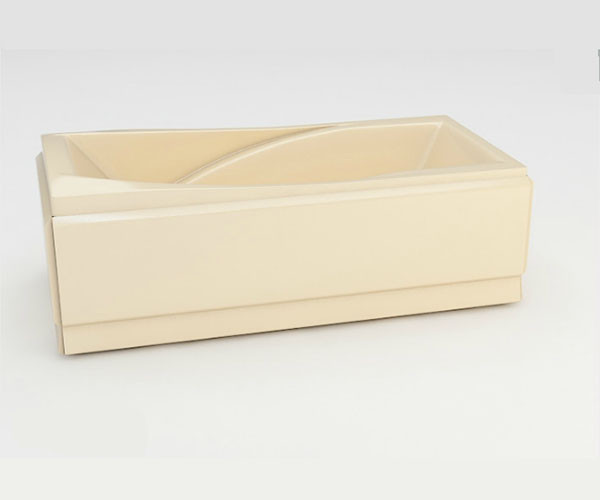 Ванна акриловая ARTEL PLAST Прекраса (190) бежевая