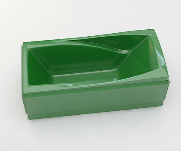 Ванна акриловая ARTEL PLAST Прекраса (190) зеленая