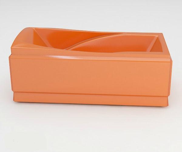 Ванна акриловая ARTEL PLAST Прекраса (190) оранжевая