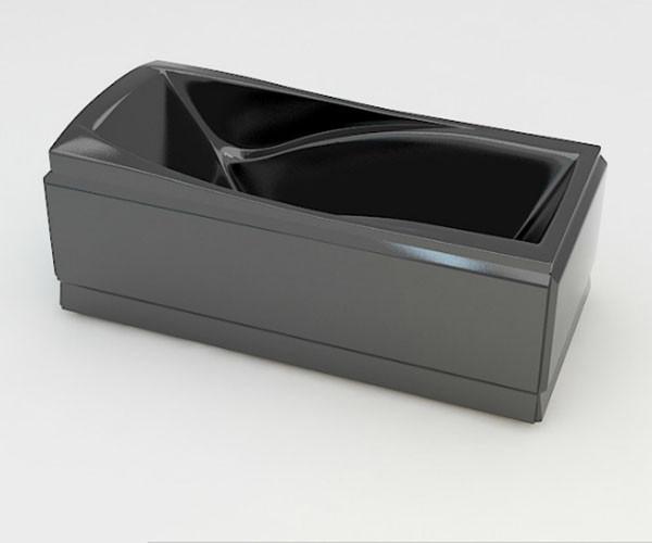 Ванна акриловая ARTEL PLAST Прекраса (190) черная