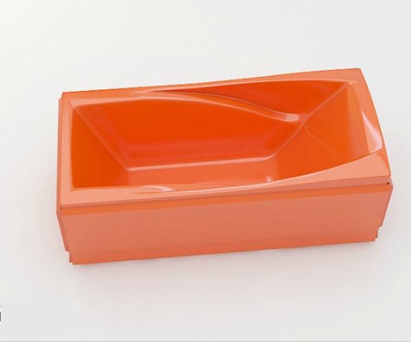 Ванна акриловая ARTEL PLAST Желанна (200) оранжевая