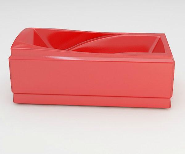 Ванна акриловая ARTEL PLAST Василиса (205) красная