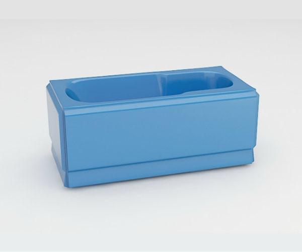 Ванна акриловая ARTEL PLAST Роксана (150) голубая