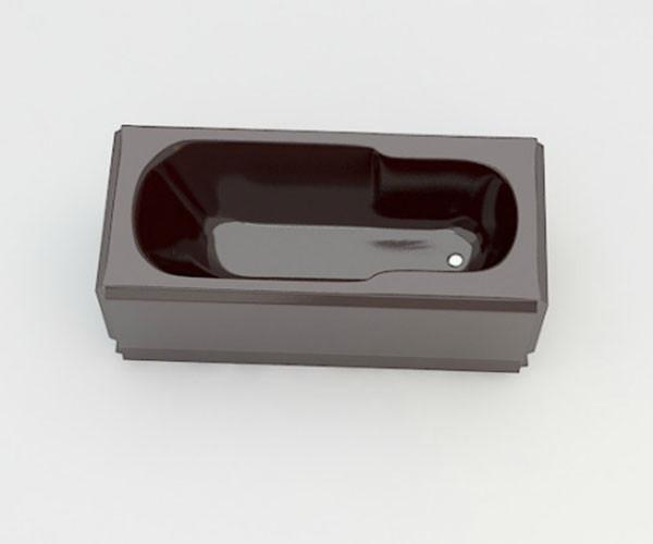Ванна акриловая ARTEL PLAST Роксана (150) коричневая